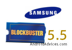 Blockbuster 5.5 Logo