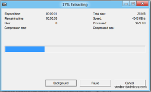 File Extraction Process
