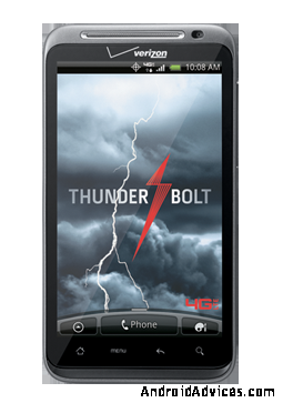 HTC Thunderbolt Gets Official Gingerbread Firmware Update ...