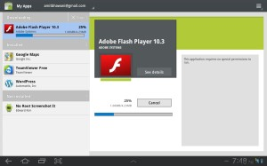 Downloading and Installing Adobe Flash