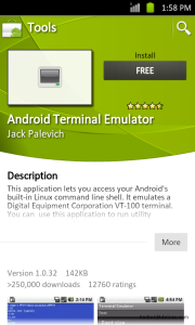 Android Terminal Emulator Download