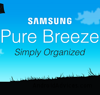 Samsung Pure Breeze Logo