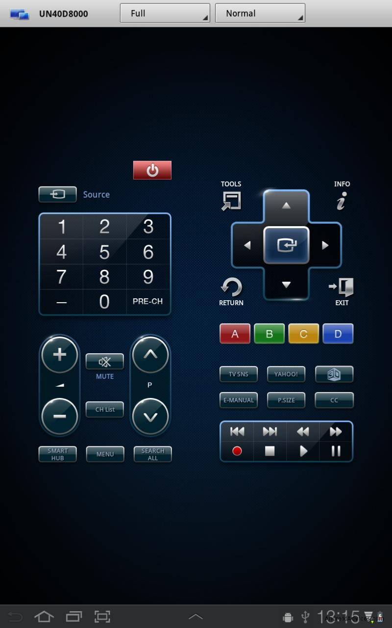 how to use galaxy tab as remote control for samsung smart tv. Black Bedroom Furniture Sets. Home Design Ideas
