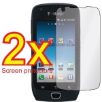 2x Premium Clear LCD Screen protector