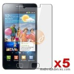 5 x Invisible Screen Protector Shields