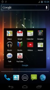 Android Ice Cream Sandwich OS Screenshots