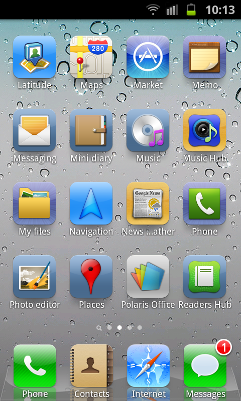 Android iPhone Icons