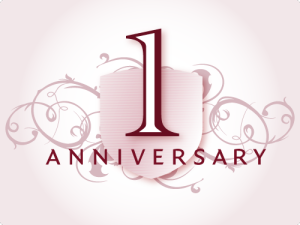 Blog First Anniversary