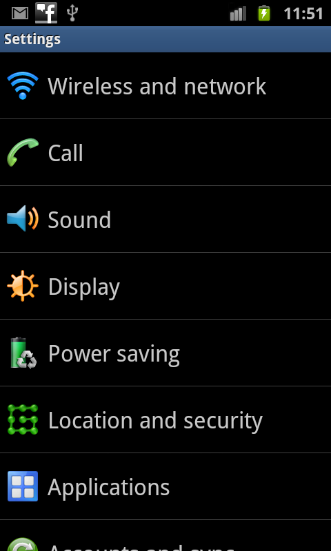 Bluetooth Tethering Phone Settings