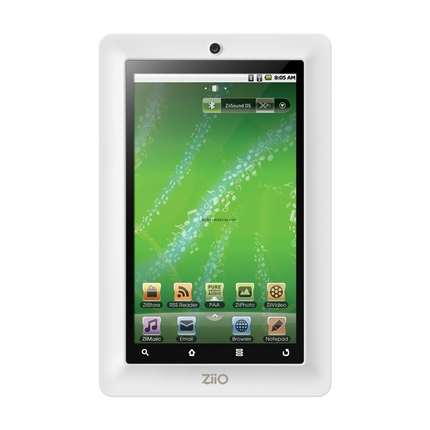 Creative ZiiO Android tablet
