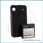 Extended Cell Phone Battery (3500 mAh)