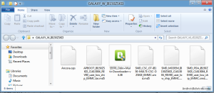 Galaxy W Extracted Files