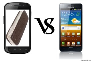 Google Nexus Prime vs Galaxy S2