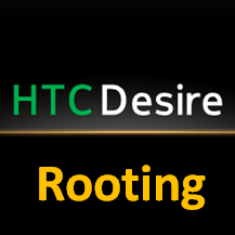 HTC DESIRE Rooting Logo
