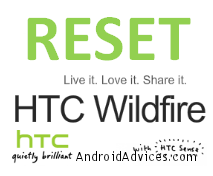 HTC Wildfire Logo