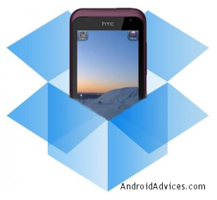 HTC with Dropbox