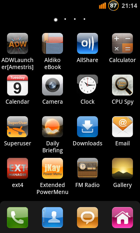 Custom Ice Cream Sandwich ROM for Nexus One