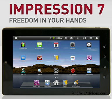 Impression 7 incher tablet