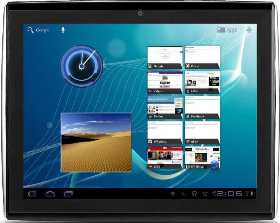 type has best 10 inch android tablets 2012 Tabs
