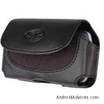 Leather Case Holster Cover Side Pouch
