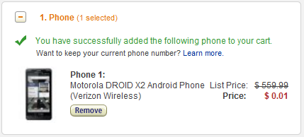 Motorola Droid X2 Android Phone
