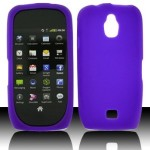 Purple Soft Silicon Skin Case Cover