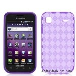 Purple TPU Candy Rubber Flexi Skin Case Cover