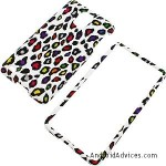 Rainbow Leopard (White) Protector Case