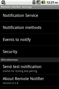Remote Notification Android