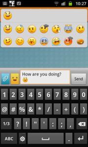 Emoticons in Chat On