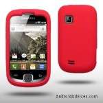 SILICONE SKIN CASE BY CELLAPOD CASES RED