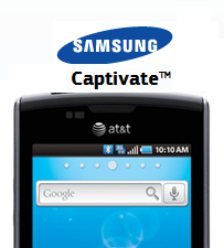 Samsung Captivate Logo
