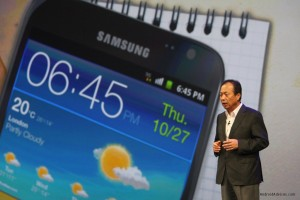 Samsung Galaxy Note Uk launch