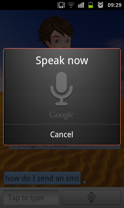 Speaktoit Android