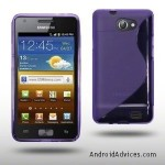 TPU Rubber Case Purple