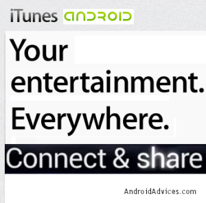 iTunes for Android Logo