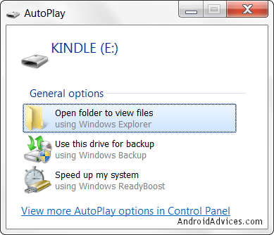 Auto Play Kindle Fire Drive