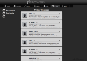 Browsix SMS