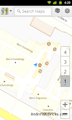 Current Floor Layout GMaps 6