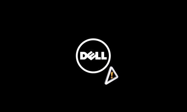 Dell Logo in Recovery Mode