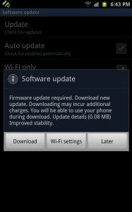 Download Software Update Files