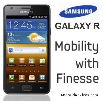 How to Update Samsung Galaxy R I9103 with ICS 4 0 4 Firmware