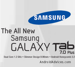 Galaxy Tab 7 Plus Logo