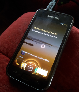 ICS on Samsung Galaxy S
