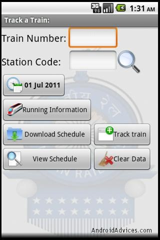 Indian Rail Alarm
