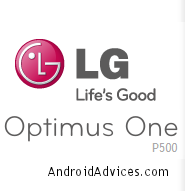 LG Optimus One Logo
