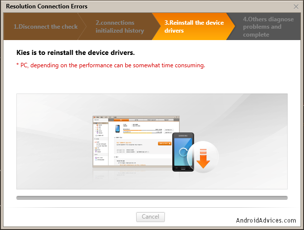 Reinstall Drivers Resolution Connection Errors
