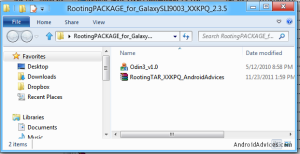 Rooting Package XXKPQ Extracted Files