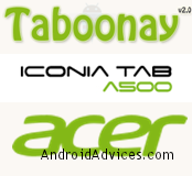 acer Iconia Taboonay logo
