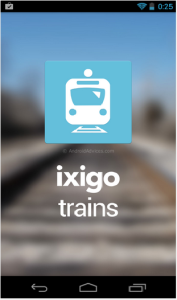 ixigo trains-app